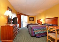 海洋度假村俱乐部酒店 - 劳德代尔堡 - 睡房