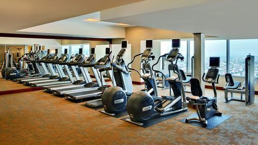 洛杉矶丽思卡尔顿酒店 - 洛杉矶 - 健身房