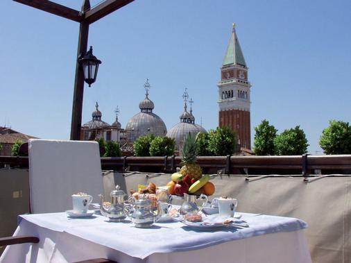 威尼斯哥伦比亚酒店 - 威尼斯 - 阳台