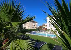 卡西扎西佳plus酒店 - 比亚里茨 - 游泳池