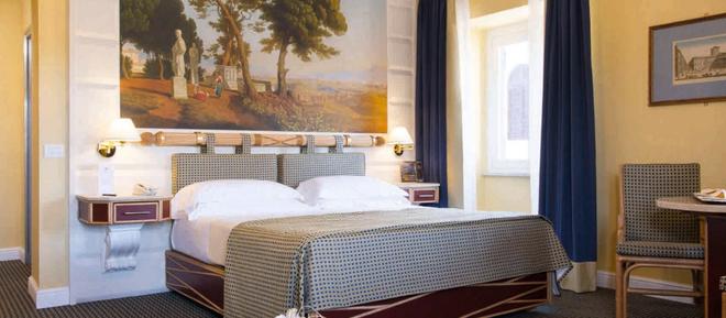 罗马维多利亚酒店 - 罗马 - 睡房