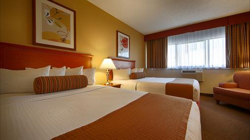 贝斯特韦斯特罗雅酒店 - 西雅图 - 睡房