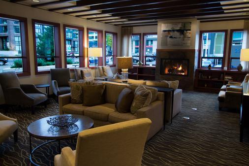 贝斯特韦斯特普勒斯行政旅馆 - 西雅图 - 大厅