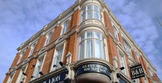 伦敦黑狮宾馆 - 伦敦 - 建筑