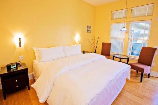 太平洋之蓝旅馆 - 圣克鲁兹 - 睡房