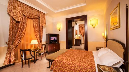 罗马尼扎酒店 - 罗马 - 睡房
