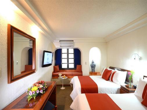 索娜罗莎酒店 - 墨西哥城 - 睡房