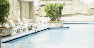 梅里达米申酒店 - 梅里达 - 游泳池