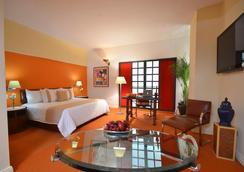 蒙特雷历史中心米西翁酒店 - 蒙特雷 - 睡房