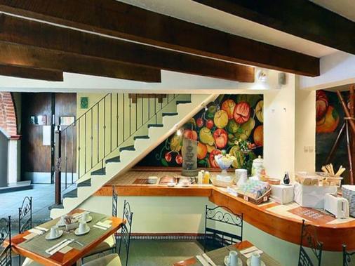 米西翁哈拉帕拉斯公约广场酒店 - 哈拉帕 - 厨房