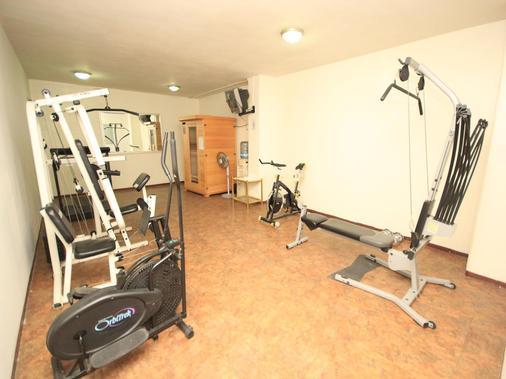 萨卡特卡斯米西翁阿根托酒店 - 萨卡特卡斯 - 健身房