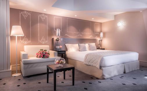 巴黎博尚酒店 - 巴黎 - 睡房