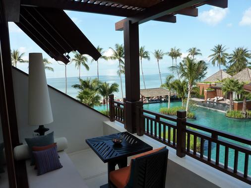 麦苏梅海滩温泉度假酒店 - 苏梅岛 - 阳台