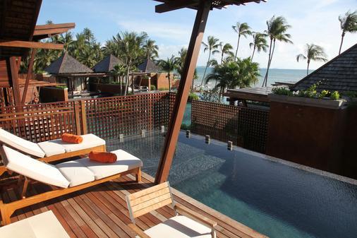 麦苏梅海滩温泉度假酒店 - 苏梅岛 - 游泳池