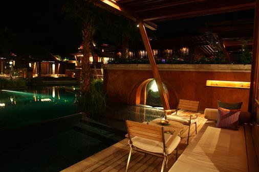 麦苏梅海滩温泉度假酒店 - 苏梅岛 - 露台