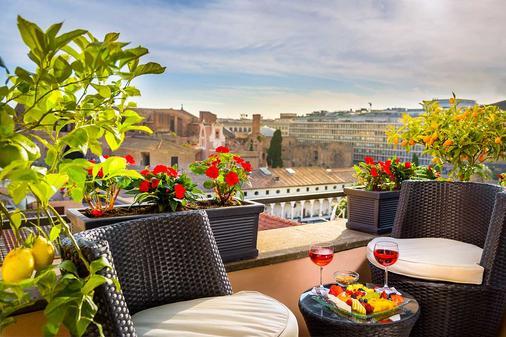戴克里泽诺酒店 - 罗马 - 阳台