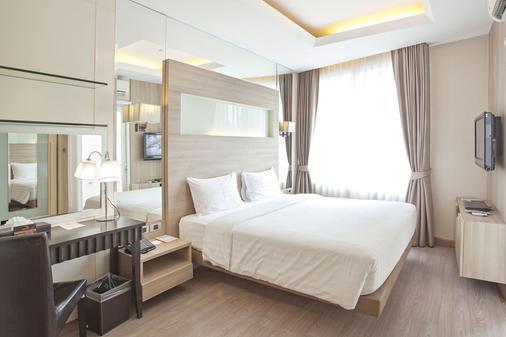 曼谷维居公寓酒店 - 曼谷 - 睡房