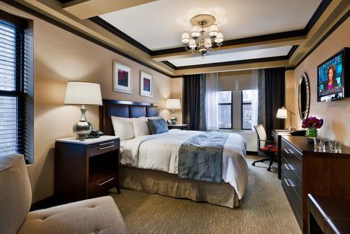 纽约市丽城酒店 - 纽约 - 睡房