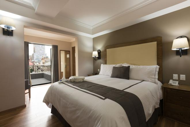 历史中心酒店 - 墨西哥城 - 睡房