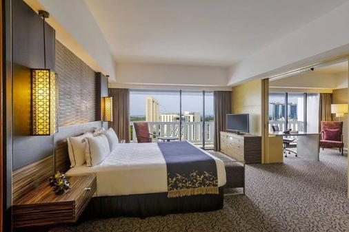 新加坡滨华大酒店 - 新加坡 - 睡房
