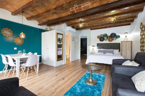 巴塞罗那小街公寓24号 - 巴塞罗那 - 睡房
