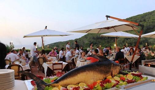 阿瓜维瓦公园酒店 - 费拉约港 - 餐馆