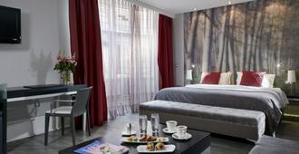 女王之门酒店 - 伦敦 - 睡房