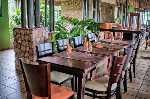 高山乐园酒店 - La Fortuna - 餐馆