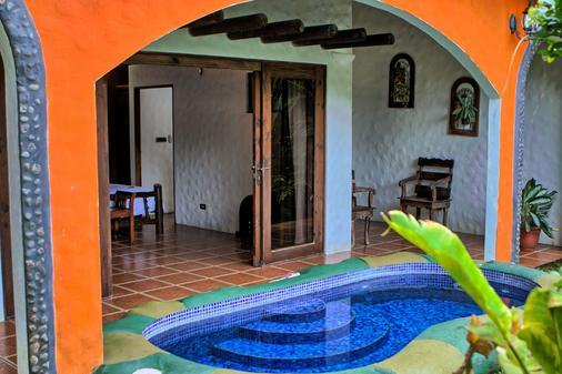 高山乐园酒店 - La Fortuna - 游泳池