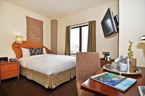 旧金山大都会酒店 - 旧金山 - 睡房