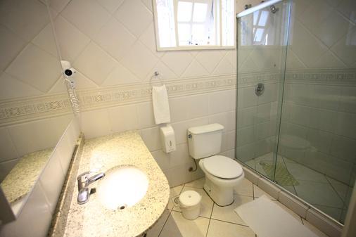 奎伦西亚旅馆 - 格拉玛多 - 浴室