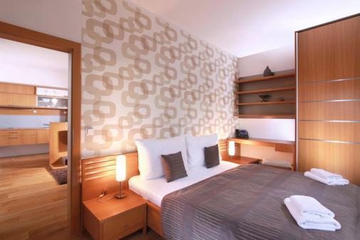 维谢赫拉德公寓式酒店 - 布拉格 - 睡房