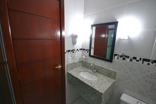 波萨达多森特罗欧斯特酒店 - 布希奥斯 - 浴室