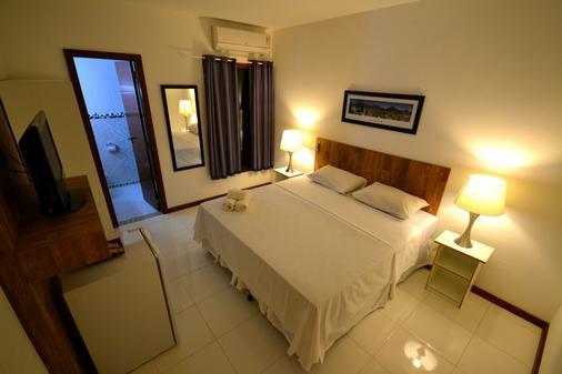 波萨达多森特罗欧斯特酒店 - 布希奥斯 - 睡房