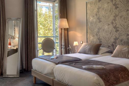 维多利亚别墅酒店 - 尼斯 - 睡房
