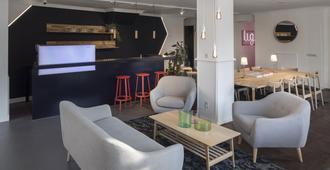 鹿特丹城市酒店 - 鹿特丹 - 客厅