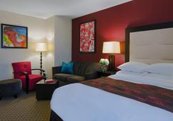斯坦福市中心零度酒店 - 斯坦福德 - 睡房