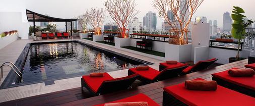 西隆富丽华酒店(原西隆尤尼可大酒店) - 曼谷 - 游泳池