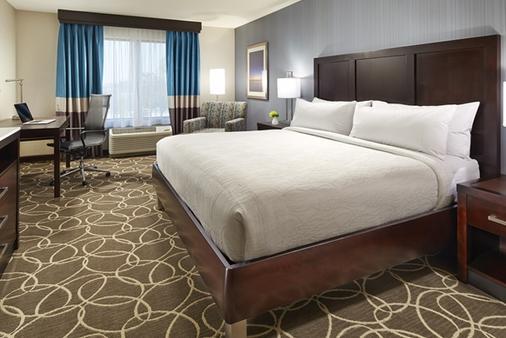 纽约市金融中心曼哈顿市中心希尔顿花园酒店 - 纽约 - 睡房