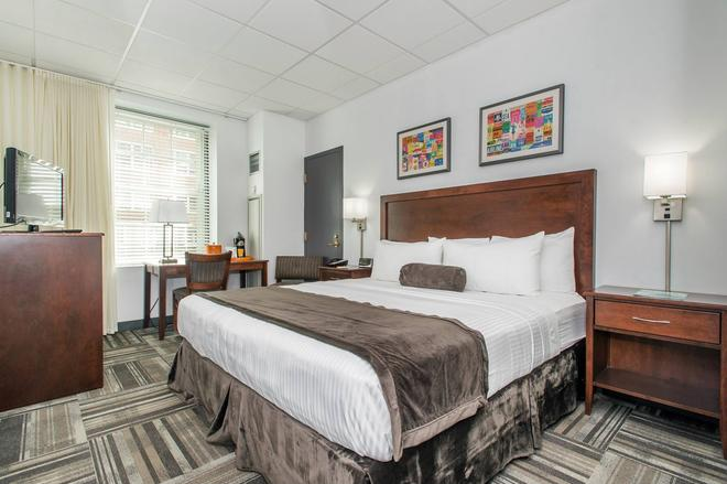 140酒店 - 波士顿 - 睡房