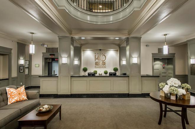 140酒店 - 波士顿 - 柜台