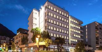 阿德米拉酒店 - 卢加诺 - 建筑