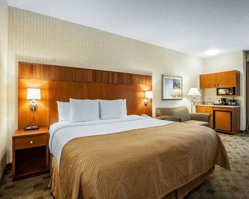 波特兰机场克拉丽奥酒店 - 波特兰 - 睡房
