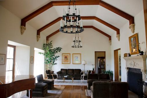 柳树棕榈泉历史旅馆 - 棕榈泉 - 休息厅