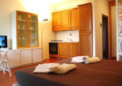 Residence Poggio Del Golf - 佛罗伦萨 - 睡房