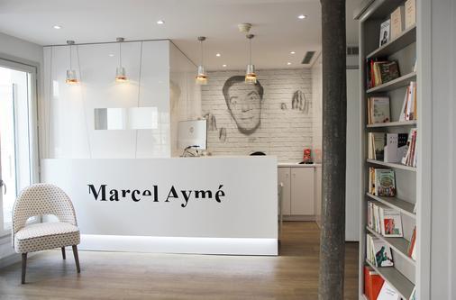 马素尔埃梅文学贝斯特韦斯特优质酒店 - 巴黎 - 柜台