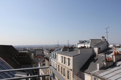 马素尔埃梅文学贝斯特韦斯特优质酒店 - 巴黎 - 阳台