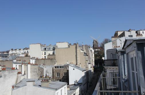 马素尔埃梅文学贝斯特韦斯特优质酒店 - 巴黎 - 户外景观