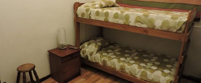 普罗维登青年旅馆 - 圣地亚哥 - 睡房