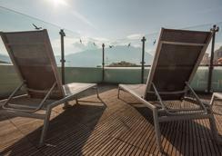 安蒂科博尔戈酒店 - 里瓦 - 露天屋顶